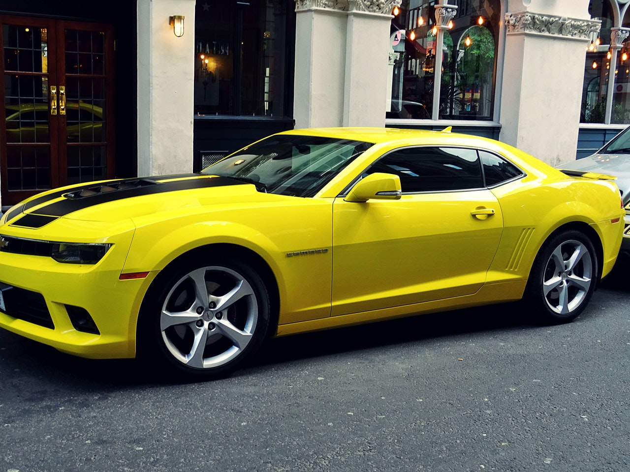 Yellow Chevrolet Camaro